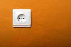 Spina elettrica fotografia stock libera da diritti