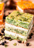 Spinach appetizer Royalty Free Stock Images