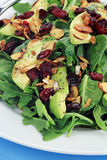 Spinach and Avocado Salad Stock Photography
