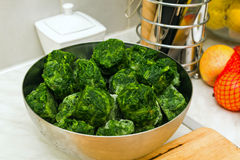 Spinach balls Royalty Free Stock Images