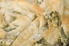 Spinach banitsa Royalty Free Stock Photography