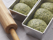 Spinach bread1 Royalty Free Stock Photo