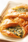 Spinach Croissant Royalty Free Stock Image