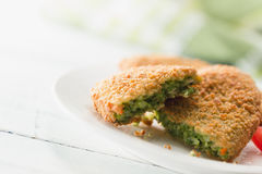 Spinach Croquettes Stock Images
