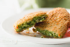 Spinach Croquettes Royalty Free Stock Photo