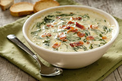 Spinach  Dip Stock Photos