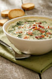 Spinach  Dip Royalty Free Stock Photo