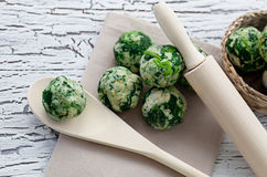 Free Spinach Dumplings Stock Images - 30664124