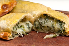 Spinach Empanada Royalty Free Stock Photos