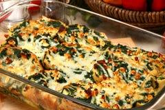 Free Spinach Feta Strata Royalty Free Stock Image - 5535636
