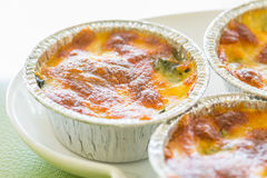 Spinach gratin Royalty Free Stock Images