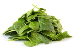 Spinach Leaves Royalty Free Stock Image
