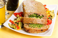 Free Spinach Meatloaf Stock Photos - 28744393