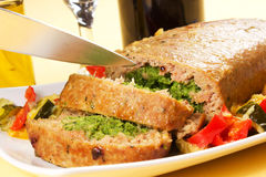 Free Spinach Meatloaf Stock Image - 28744411