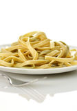 Spinach pasta Royalty Free Stock Images