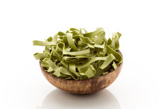 Spinach pasta Royalty Free Stock Photo