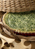 Spinach pie Royalty Free Stock Photo