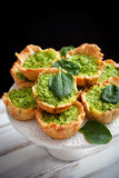 Spinach pie Royalty Free Stock Image