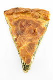 Spinach pie ( spanakopita ) Royalty Free Stock Photography