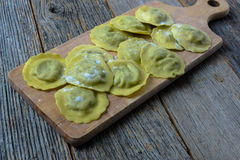 Spinach Ravioli Royalty Free Stock Image