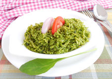 Spinach Rice Royalty Free Stock Image