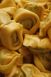 Spinach & ricotta tortelloni Royalty Free Stock Image