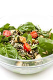 Spinach Salad Royalty Free Stock Image