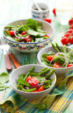 Spinach salad Stock Photography