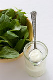 Spinach Salad Royalty Free Stock Images