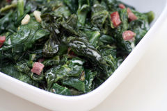 Spinach salad Royalty Free Stock Photography