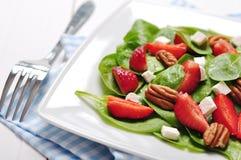 Spinach salad Royalty Free Stock Photos