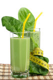 Spinach smoothie Royalty Free Stock Photos