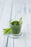 Spinach smoothie Stock Images
