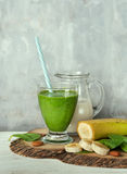 Spinach smoothie Royalty Free Stock Photography