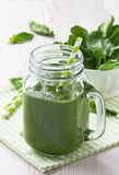 Spinach smoothie Royalty Free Stock Photo