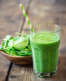 Spinach  Smoothie Stock Image
