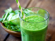 Spinach  Smoothie Royalty Free Stock Images