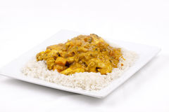spinach and sweet potato curry Royalty Free Stock Photography