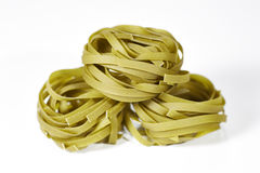Spinach Tagliatelle Royalty Free Stock Image
