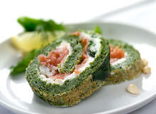 Free Spinache Roulade Stock Images - 12366314