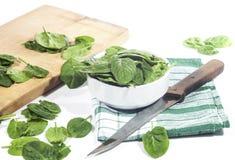 spinaci immagini stock