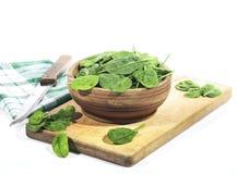 spinaci fotografie stock