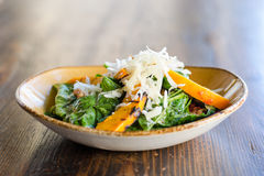 Spinaci-Salat Lizenzfreie Stockfotografie