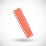 Spinal board  flat icon Royalty Free Stock Images