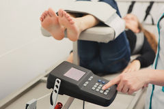 Spinal Decompression Therapy Stock Image