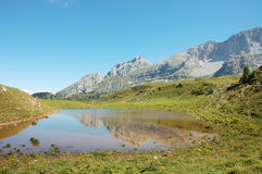 Spinale Lake, Apls. Royalty Free Stock Photography
