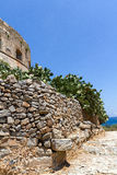 Spinalonga海岛在克利特 免版税库存图片