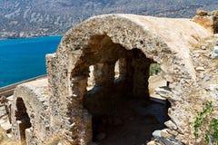 spinalonga νησιών της Κρήτης Στοκ εικόνες με δικαίωμα ελεύθερης χρήσης