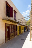 spinalonga νησιών της Κρήτης Στοκ εικόνα με δικαίωμα ελεύθερης χρήσης
