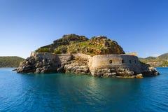 spinalonga Крита стоковые фото